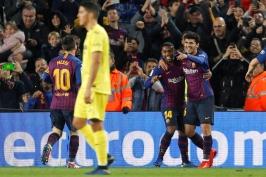 Barcelona se vrátila do vedení, Sevilla remizovala v Alavésu