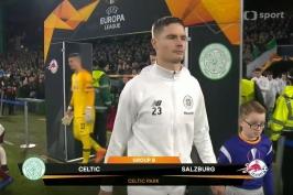 Sestřih utkání Celtic Glasgow – Salcburk