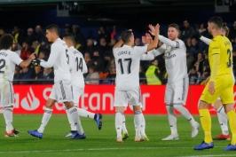 Realu vzal výhru dvěma góly Cazorla, s Villarrealem jen remizoval
