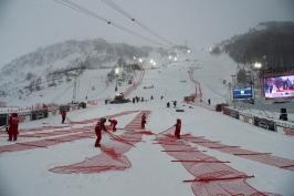 Slalom Val d'Isere odfoukl vítr. Nový termín se teprve musí najít