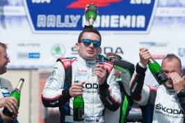 Kopecký triumfoval v Rallye Bohemia a titul mistra republiky už má doma