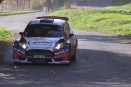 První etapu Rallye Příbram vyhrál Černý, Pech je na závěr MČR těsně druhý