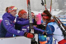 V Ridnaun vyhrála sprint Ruska Morozovová. Tkadlecová dosáhla na body
