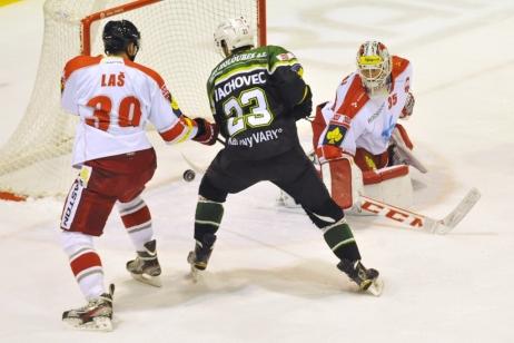V Olomouci se porouchalo chlazení, utkání s Karlovými Vary bylo odloženo