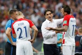 Ve finále se taková penalta nepíská, myslí si chorvatský kouč Dalič