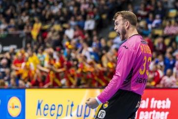 Španělský gólman Vargas dával góly a deptal Makedonce, kteří musí o postup ještě zabojovat