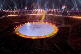 Paralympiáda byla zahájena, oheň zapálili jihokorejští curleři