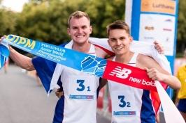 Moderní pětibojaři Grycz s Vlachem jsou juniorskými mistry světa ve štafetě