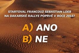 Soutěž Dakar 2019 – 16. 1.